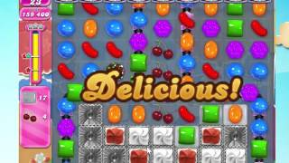 Candy Crush Saga Level 1697 with 5 moves left,  NO BOOSTERS!
