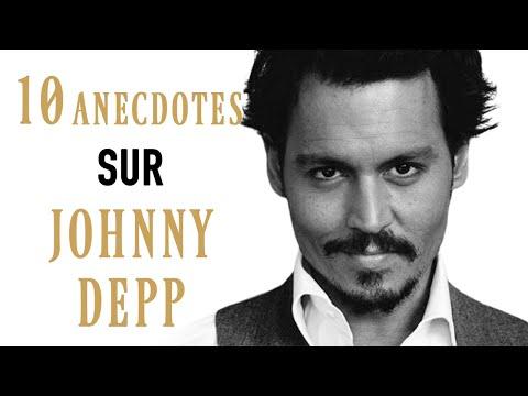 10 ANECDOTES SUR... JOHNNY DEPP