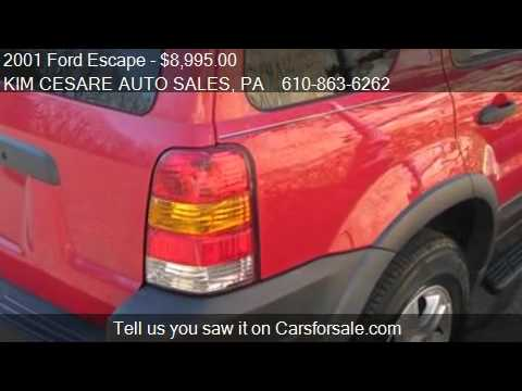 2001 Ford Escape XLT 4WD - for sale in PEN ARGYL, PA 18072