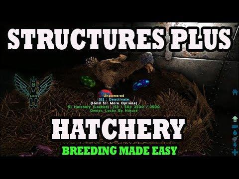 Ark: Structures Plus Tutorial   Hatchery   Breeding Made Easy