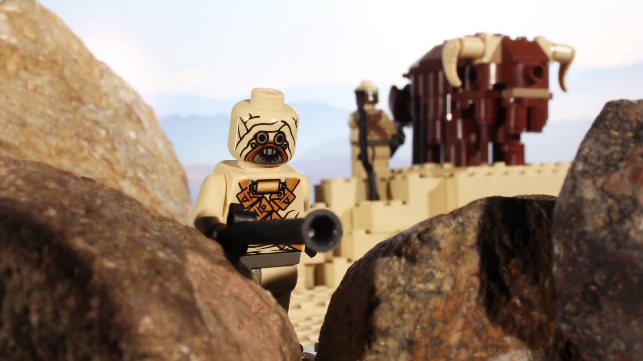 lego star wars sand people are bad shots youtube
