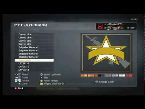 Black Ops Us Army Rangers Emblem Youtube