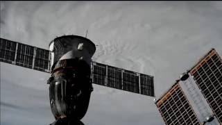 Space Station Cameras Peer down on Major Hurricane Matthew