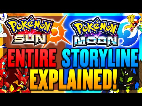 Pokemon Sun and Moon: STORYLINE EXPLAINED!? Sun and Moon LEGENDARY POKEMON THEORY/SPECULATION!