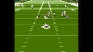 NFL GameDay 98 PlayStation Gameplay - Movie