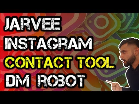 Jarvee Tutorial: How to use the CONTACT TOOL to DM people on Instagram (step-by-step)