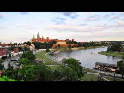 Kraków Stop Motion Timelapse 2012 HD 1080p (Shot in Cracow, Poland)