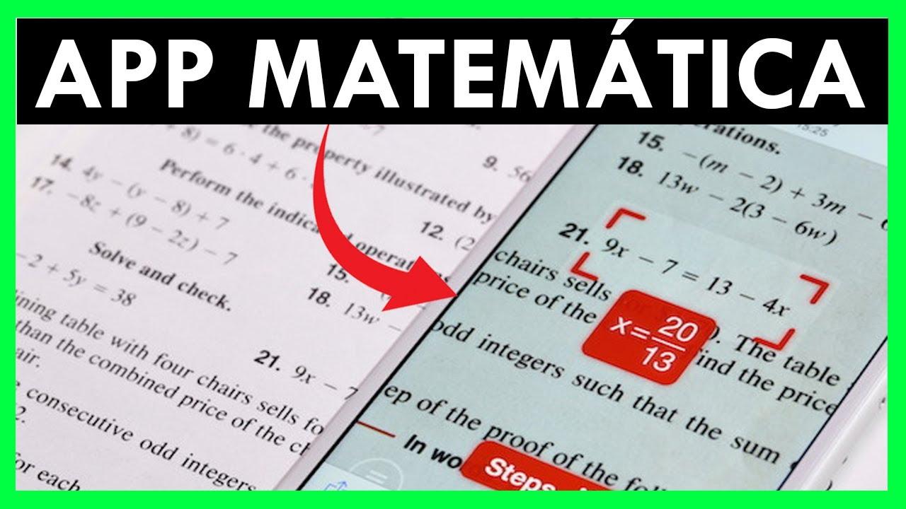 Aplicacion Android Para Resolver Problemas Ejercicios de Matematica ...