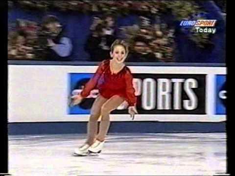 Tara Lipinski USA - 1996 World Championships LP