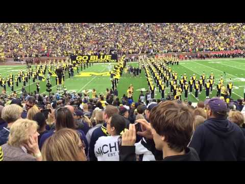 Michigan Players Entrance James Earl Jones  9122015