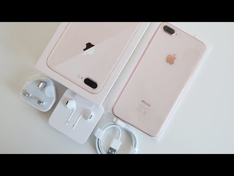 Download Youtube: Gold iPhone 8 Plus UNBOXING & First Impressions!