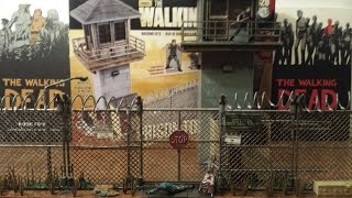 The Walking Dead Prison Tower And Gate Building Set Review (hd)