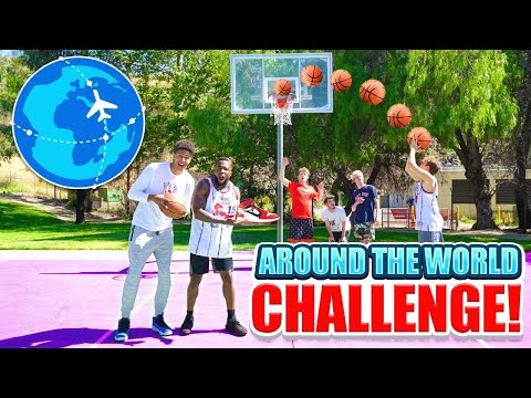 Shooting Basketball Challenge vs. 2Hype for FREE SHOES!