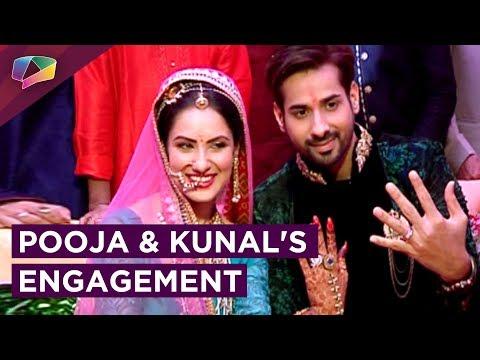 Pooja Banerjee And Kunal Verma Get Engaged | Star Studded Ceremony