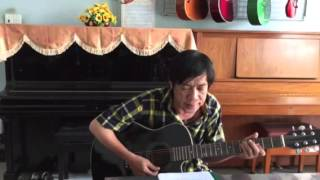 "Day dan guitar dem bolero khuyen nhac bumbi Ca Khuc ""Vó Ngựa Tren Đồi Cỏ Non """