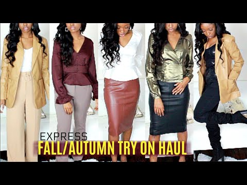 [VIDEO] - NEW IN AUTUMN WINTER / FALL TRY ON HAUL + Outfit Ideas & Essentials Lookbook 3