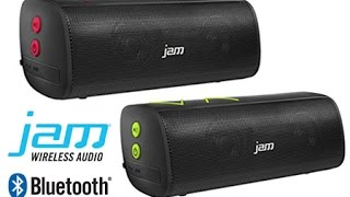 Jam Thrill bluetooth speaker review and sound test - YouTube