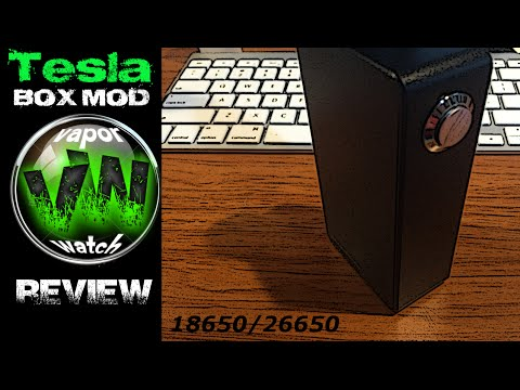 Tesla Invader Dual 26650/18650 Parallel Box Mod Review!