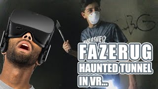 Faze Rug Mysterious Figure Appearance In Haunted Tunnel