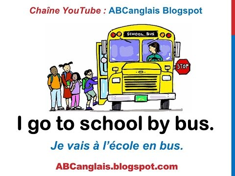 Cours d'anglais 61 - Les moyens de transport en anglais On foot By car by train Modes de transport