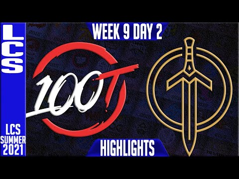 Download 100 vs GG Highlights | LCS Summer 2021 W9D1 | 100 Thieves vs Golden Guardians
