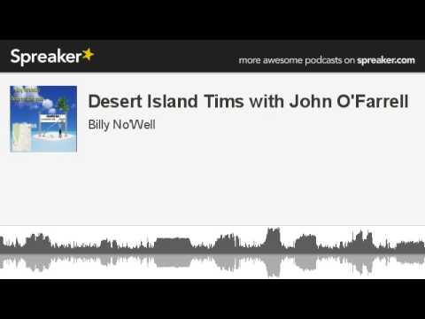 Desert Island Tims with John O'Farrell (made with Spreaker)