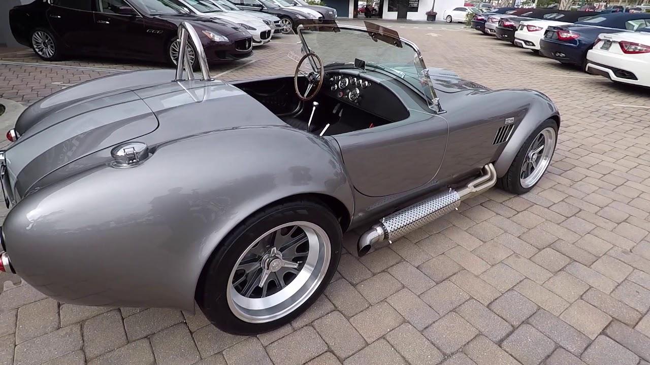 1965 Backdraft Racing Cobra! Classic style!