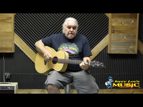 Jerry Lee's Music Store demos Breedlove Oregon Series Acoustic Guitar