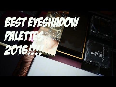 BEST EYESHADOW PALETTES 2016
