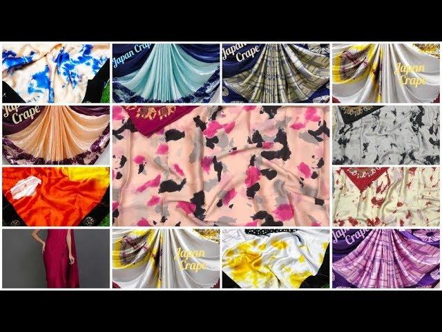New Design 2019 !! Satin Saree, Plain Satin Silk, Japan Creap, Soft Satin Silk