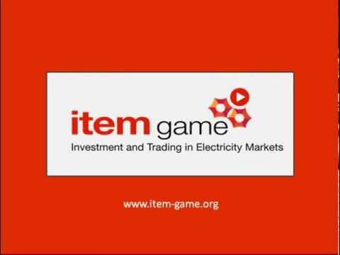 ITEM-Game (Investment and Trading in Electricity Markets Game)