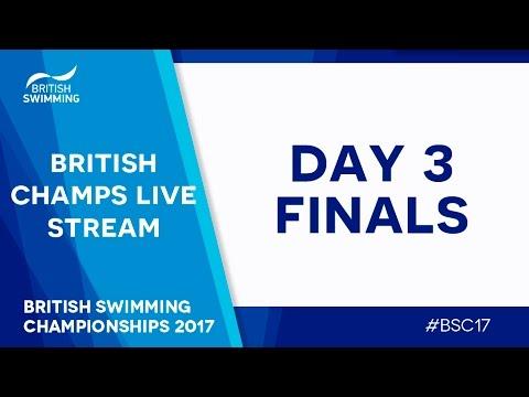British Swimming championships 2017 - Day 3 Finals