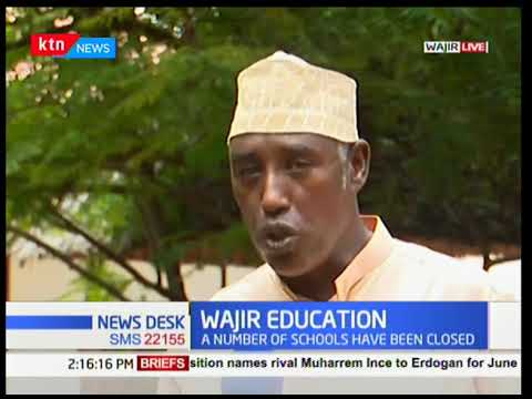 Crisis in the education sector over lack of teachers in Wajir