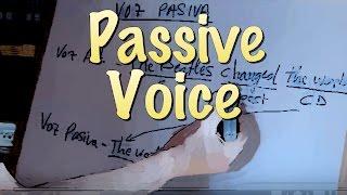 INGLÉS. 33- PASIVA. Passive Voice. Inglés para hablantes de español. Tutorial