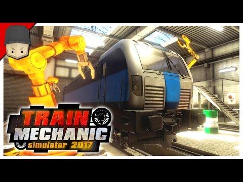 Train Mechanic Simulator 2017 - ELECTRIC TRAINS!