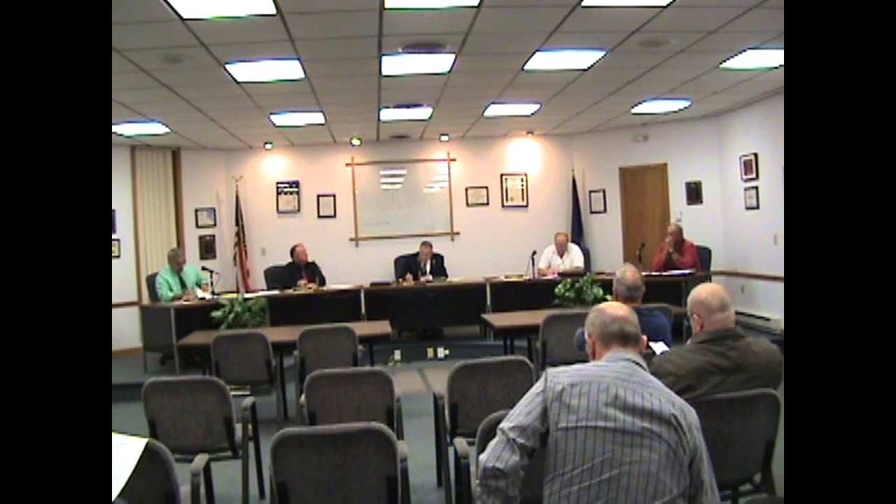Rouses Point Village Board Meeting 10-5-15
