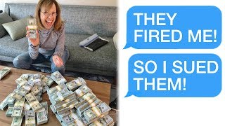 "r/Prorevenge ""They Fired Me... SO I SUED FOR $50,000!"""
