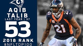 #53: Aqib Talib (CB, Broncos) | Top 100 Players of 2018 | NFL