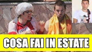 COSA FAI IN ESTATE - iPantellas (REACTION)