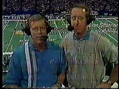Saints Dance Team Classics-1995 sideline shots (vs Seattle, vs Detroit) Preseason