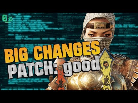 BIG Changes! Patch Notes: Good | For Honor Marching Fire