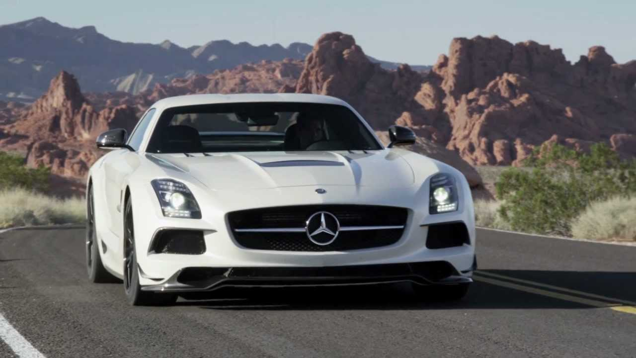 Superb SLS AMG Black Series    Gullwing Sports Car    Mercedes Benz   YouTube