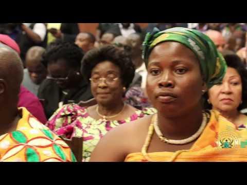 Presentation of Credence to 22 Ghanaian Ambassadors