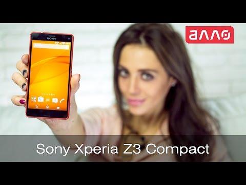 Видео-обзор смартфона  Sony Xperia Z3 compact
