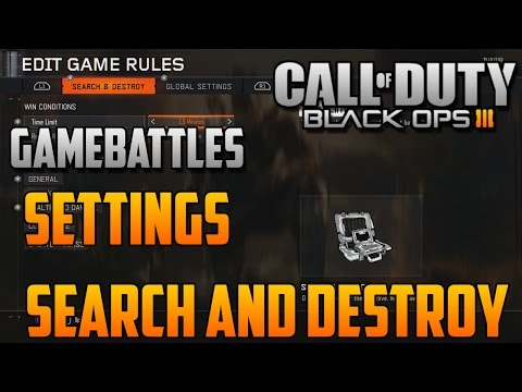 ''How To Setup A Gamebattles Lobby'' in BO3'' (Call of Duty Black Ops 3)