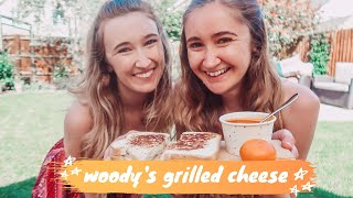 DISNEY RECIPE TEST: woody&#39s lunchbox grilled cheese