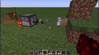 minecraft-Как сделать пулемёт стреляющий стрелами