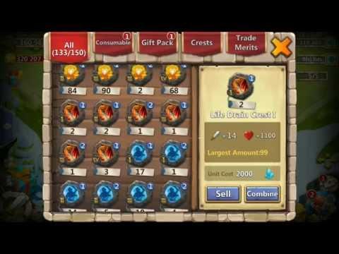 Lost Realm 185 Legend Group Physheild Crest Plus Game Play Castle Clash