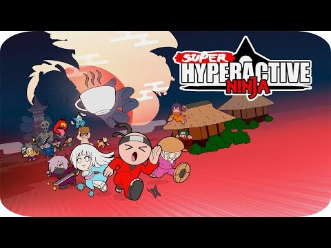 Super Hyperactive Ninja - Gameplay Español - El Ninja del Café xD ☕