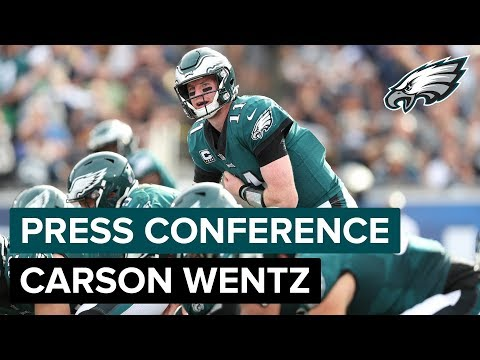QB Carson Wentz Discusses His Return, Jordan Matthews & More | Eagles Press Conference